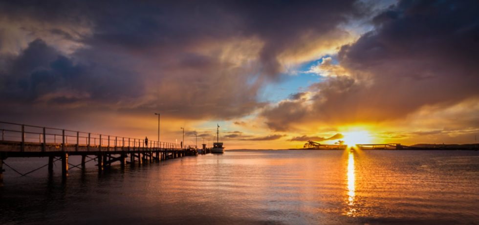 Port_Lincoln_Town_Jetty_at_Sunrise_-_South_Australia